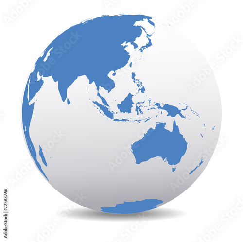 Asia and Australia, Global World