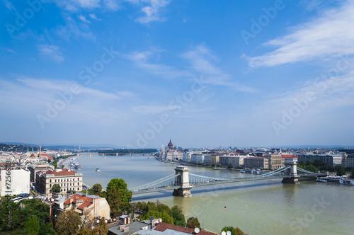 Fotografie, Obraz  Belvedere di Budapest
