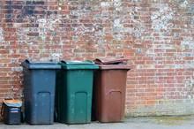 Trash Can Rubbish Dustbin Garb...