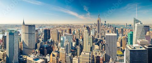 Keuken foto achterwand New York Manhattan aerial view