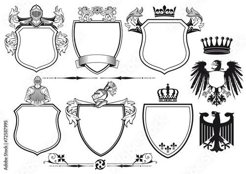 Ritter Wappen Stock Vector Adobe Stock