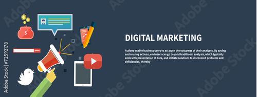 Fotografía  Icons for digital marketing