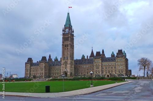 Spoed Foto op Canvas Canada OTTAWA - CANADA - LE PARLEMENT