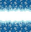 Christmas decoration frame. Abstract Illustration