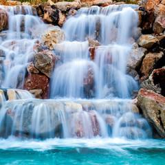 Obraz na Szklewaterfall