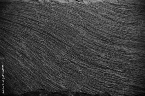 Fotografie, Obraz  black slate texture
