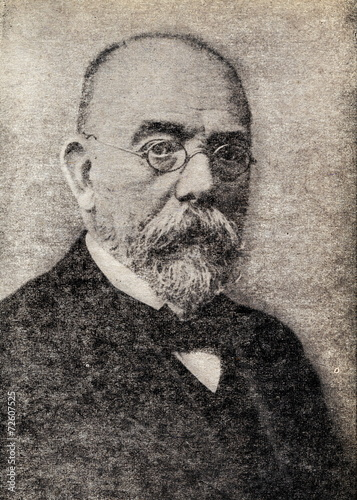 Robert Koch, German physician and pioneering microbiologist Wallpaper Mural