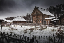 Old Abandoned Ghost Town