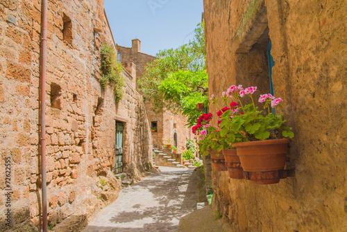 Fototapety, obrazy: Italian medieval town of Civita di Bagnoregio, Italy