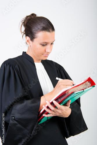 Photo  avocat en robe