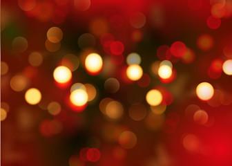 FototapetaBokeh - Weihnachten