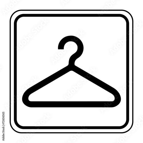 Fotografie, Obraz  Logo vestiaire.