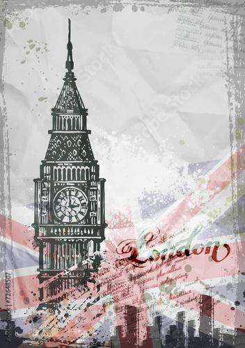 big-ben-londyn-anglia-wielka-brytania-recznie-rysowane-ilustracji