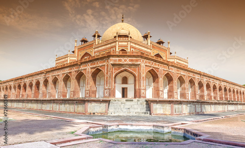 Emperor Humayun's Tomb, New Delhi, India