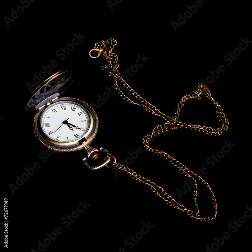 Fotografia, Obraz  Square image of vintage watch