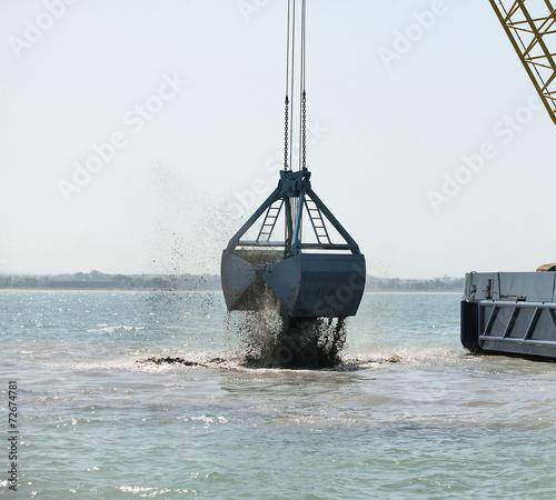 Valokuva  Harbor Dredging