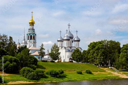 fototapeta na lodówkę vologda kremlin