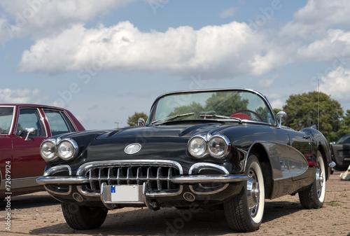 Fotografie, Obraz  Amerikanisches Automobil Corvette