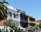 A nineteenth century house with iron cast in Melbourne