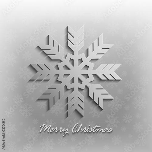 Fototapeta Christmas card vector template obraz na płótnie