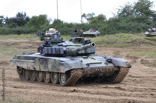 Photo  Tank T-72 M4