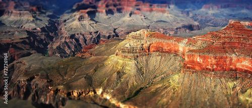 Fotobehang Natuur Park Falaises du Grand Canyon USA