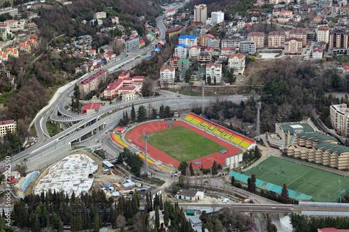 Spoed Foto op Canvas Stadion Stadium in Sochi