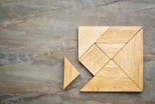 Missing Piece In Tangram Puzzle