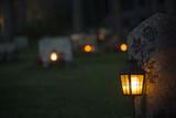 lantern on grave - 72730960