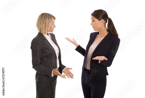 Fotografía  Streit oder Konflikt unter Frauen im Büro bzw. in der Arbeit