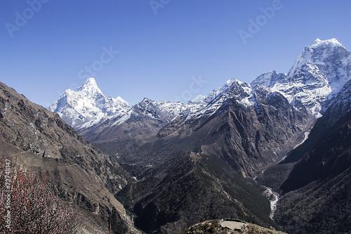 Fotografie, Obraz  mountains