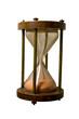 Old marine hourglass
