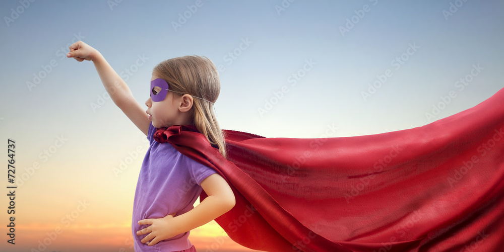 Fototapeta superhero