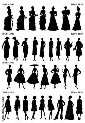 Cuadros en Lienzo Histoire de la mode