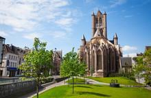 View Of St Nicholas' Church In Ghent,  Belgium