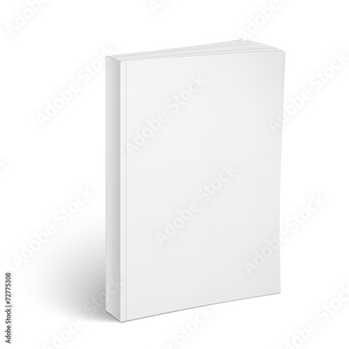 blank vertical softcover book template buy this stock vector and