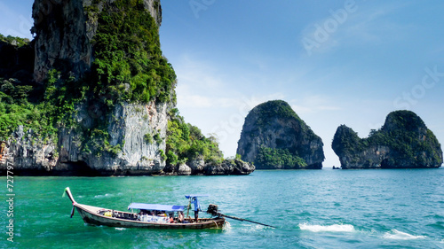Staande foto Eiland mer en indonesie