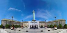 Czech Republic, Ostrava, City Hall And Prokes Square
