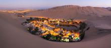 Atacama Desert, Oasis Of Huaca...
