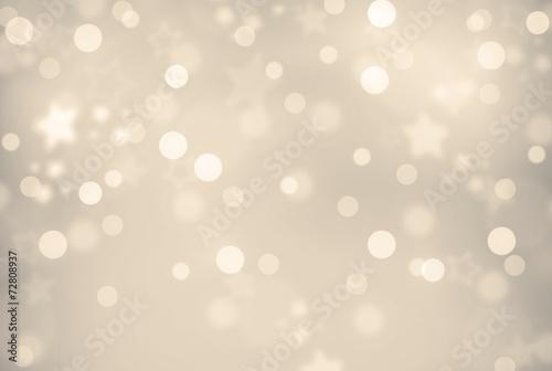 Fotografie, Obraz  goldig-silber schimmernder Weihnachts- bzw. Silvesterhintergund