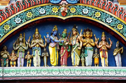hindu temple details
