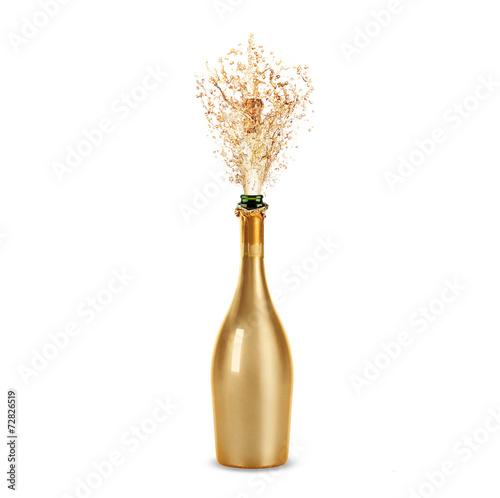 bottle of champagne Fototapeta