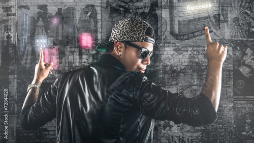 Fotografie, Obraz  Bad Boy achieve success