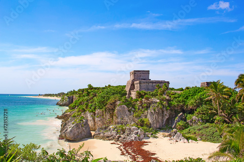 Photo sur Aluminium Mexique Tulum