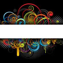 Color Banner Background Design