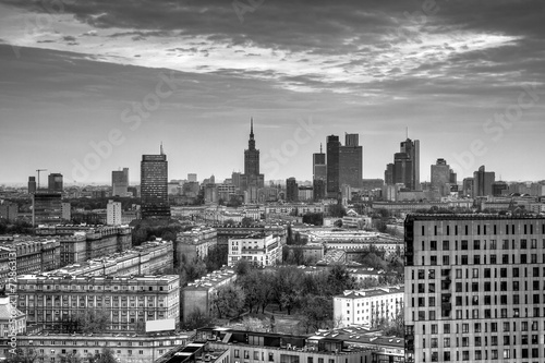 Panorama of Warsaw.HDR-high dynamic range #72863131