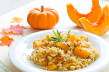 Pumpkin Risotto With Rosemary ...