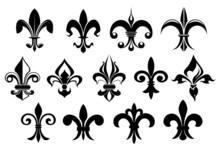 Fleur De Lys Vintage Design El...