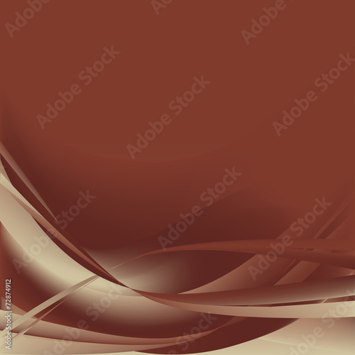 Brown and gray waves abstract background #72874912
