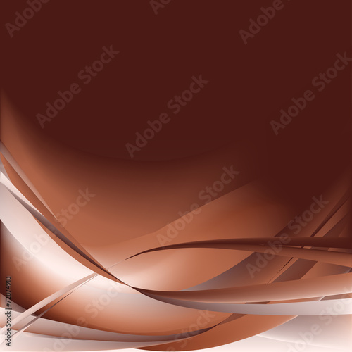 Brown waves abstract background #72874918